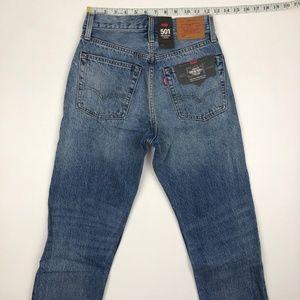 Levi's Jeans - NWT LEvi's 501 Cropped Selvedge Hem Jeans